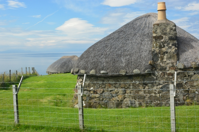 A Skye-type Black House at the Museum of Island Life