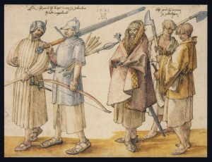 durer_Irish_warriors