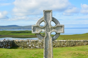Trumpan Celtic Cross Gravestone Waternish