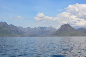 Approaching Loch Scavaig