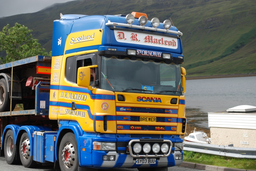 Scotland's answer to the 'Jinga' Truck