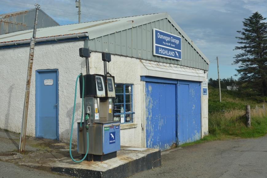 Dunvegan Garage, Isle of Skye