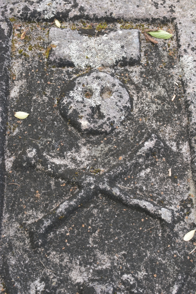 Clan period grave on St Columba's Isle
