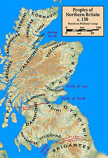 Tribes of Scotland 150AD