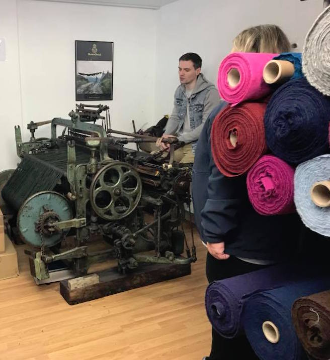 Harris Tweed weaving demo